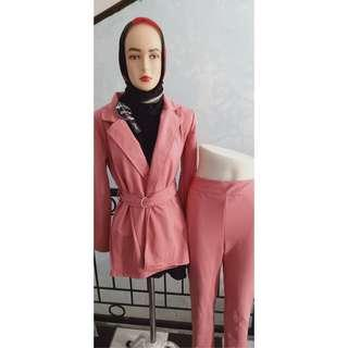 Oneset Ghisell baby Pink