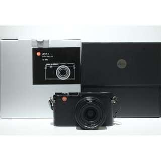 Leica X (Typ 113) Digital Camera (Black) 98% new