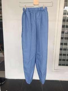 Jogger pants (light blue)