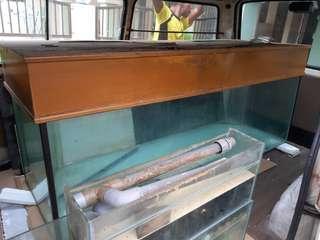 Van sewa bawa aquarium akuarium