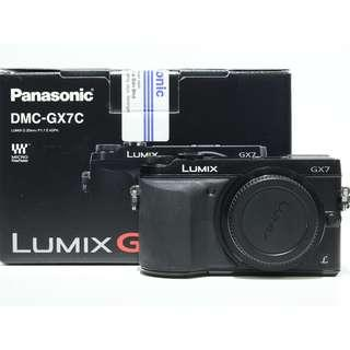 Panasonic Lumix GX7 Body Only (Black)