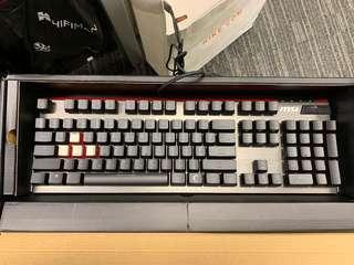MSI Vigor GK80 Gaming Keyboard