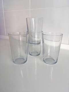Ikea clear glass all