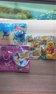 (BN) Disney Stitch / Winnie The Pooh /Princess Passport Holder /Cover