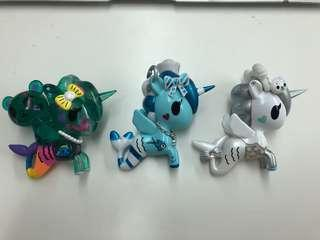 Tokidoki - unicorno figurines