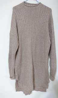 (全新)厚磅連身毛衣裙