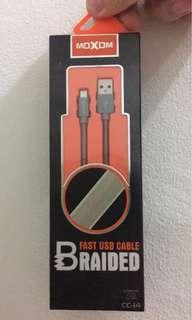 Moxom mircro usb cable