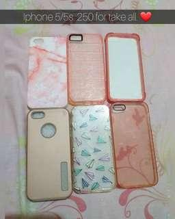 Brand new and preloved iphone 5/5s cases