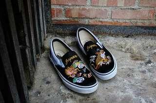 Vans X Rollicking slip-on橫須賀懶人鞋