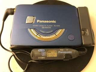 罕有伸縮摺疊式機蓋Panasonic RQ-SX55 walkman make in Japan 零件機