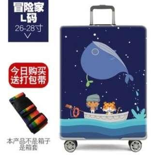 Stretch Travel Luggage Trolley Sleeve Protective Cover