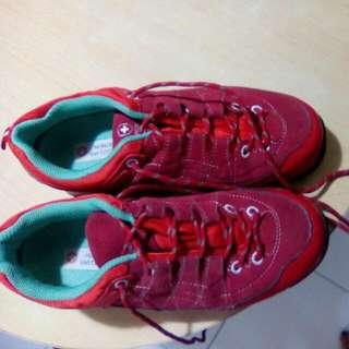 2nd Hand MONCROSS Switzerland Rubber,Red Size 7