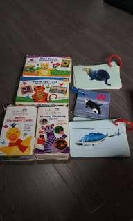 Preowned baby Einstein flash cards plus free add ons