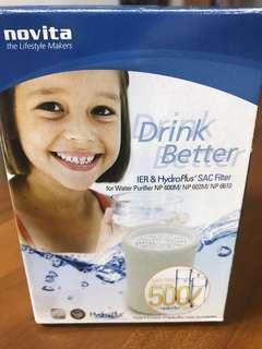 Novita water filter