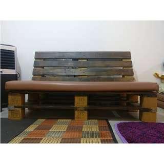 Custom Made Pallet Sofa 2 Seater