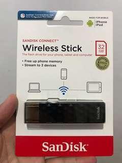 Sandisk Connect USB Wireless Stick 32GB