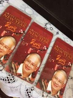 15 pcs BNSELNGOR Ang Paw packets