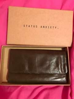 Status anxiety long wallet