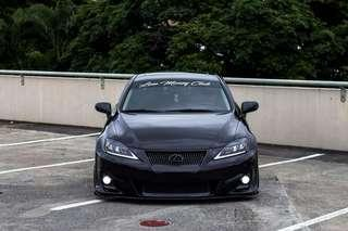 Lexus IS250 FULL LED WITH SEQUENTIAL LIGHTING