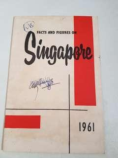1961 Facts and Figures Singapore booklet