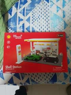 Shell station. Self assembly kit. Nego for fast deal