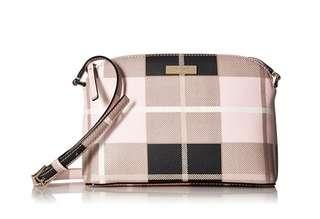 Kate Spade Newburry Lane Plaid Pink