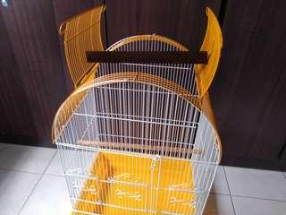 Very rare and practical 2in1 cage - stand for parrot, parakeet cockatiel love bird budgie