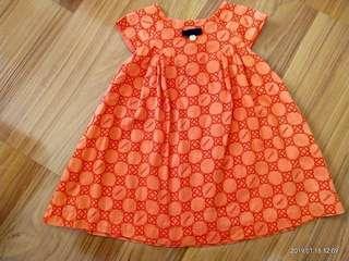 12-18m Poney Baby Girl Dress