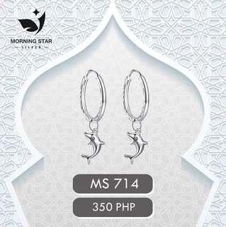 earrings dolphin