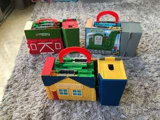 Thomas And Friends Set of 3 with 3 trains