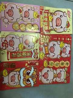 Packet of 30 Angbao packets year of the pig