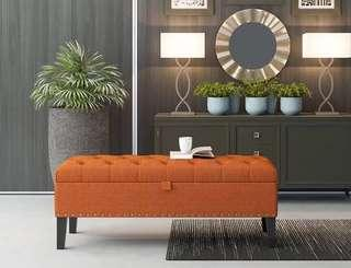 🚚 45x40cm Bench Ottoman Stools Chesterfield sofa
