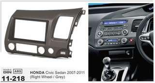 2006-2011 Honda Civic FD Radio Double din bracket panel