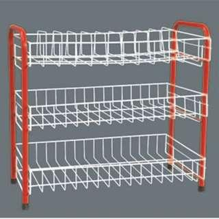 ‼️Stock Clearance‼️ - 3 Tier Plate Rack