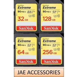 SanDisk Extreme 32GB to 256GB SDHC/SDXC 90MB/s Memory Card For DSLR