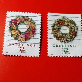 Perangko Usa Greetings 32 Stamps