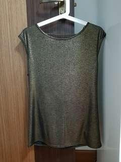 New Look shimmer top