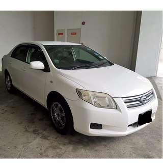 TOYOTA AXIO FOR RENT!! GRAB/GOJEK READY