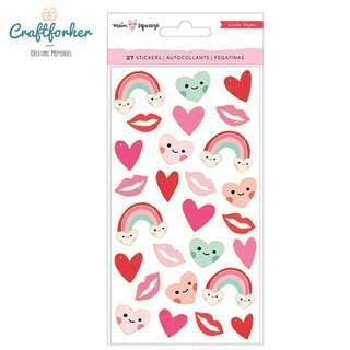 🚚 ★Stickers★ Puffy Stickers with Foil Accents by Crate Paper