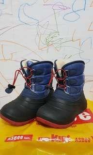 asbee スノーブーツ兒童雪靴