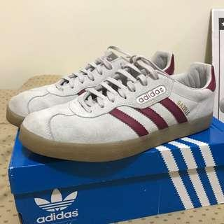 ORIGINAL Adidas Gazelle Super color Grey-Maroon