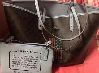 CNY $230 Fast Deal for 2 Brand New Bags Coach Tote & Crossbody Sling/Handbag