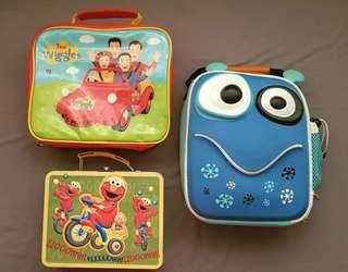 Various Branded Lunchboxes