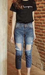 Hipnbutt ripped jeans