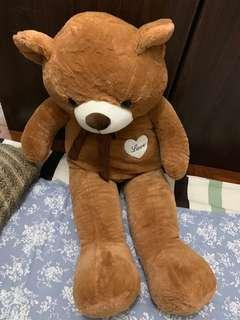 Brown teddy bears 1.8m 5.9fts