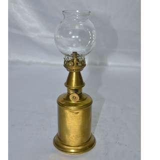 ANTIQUE VINTAGE FRENCH PIGEON OIL LAMP