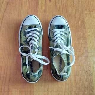 Camou Converse authentic