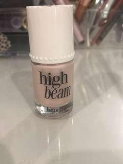 Benefit High beam liquid highlighter.