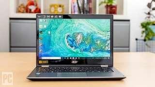 Laptop Elegan Acer Spin 3 i5-8250U+Ram 8gb ddr4 bisa kredit