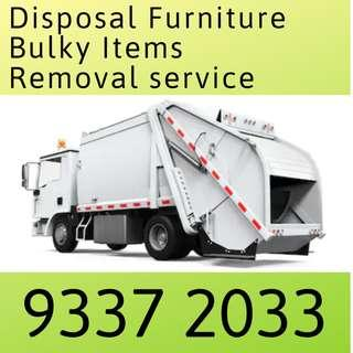 Disposal Furniture Bulky item Removable Service